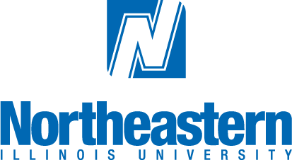 neiu_wordmark_blue_vertical